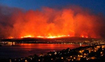 Fort William wildfire